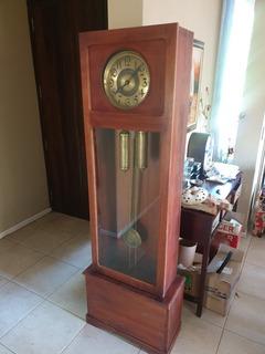 Antiguo Reloj De Pie Funcionando 1.90 M X 50
