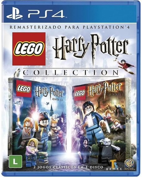 Lego Harry Potter Collection Ps4 Novo Mídia Física + Brinde
