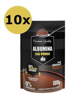 Kit 10x Albumina 500g - Asapower