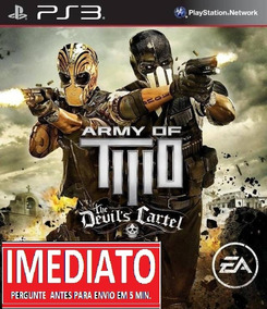 Army Of Two The Devils Cartel Ps3 Psn Midia Digital