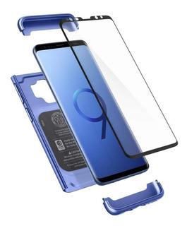 Capa Spigen Thin Fit 360 Samsung S9 Plus + Vidro Temperado