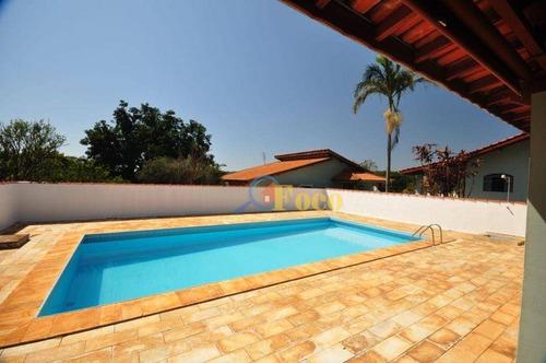 Imagem 1 de 27 de Chácara Com 5 Dormitórios À Venda, 2156 M² Por R$ 1.200.000,00 - Condomínio Sítio Da Moenda - Itatiba/sp - Ch0229