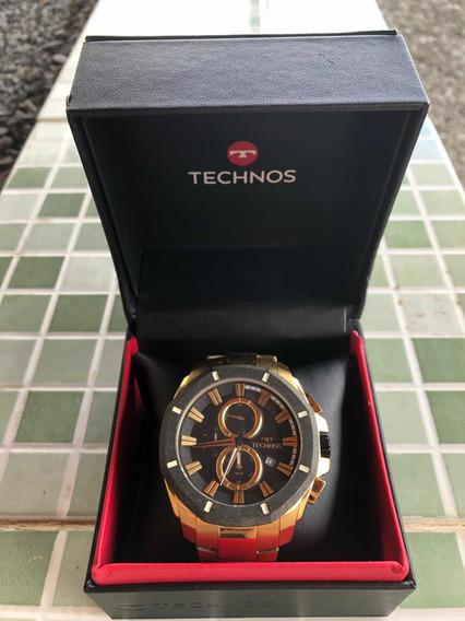 Relógio Technos Legacy Dourado Js16ab/4p