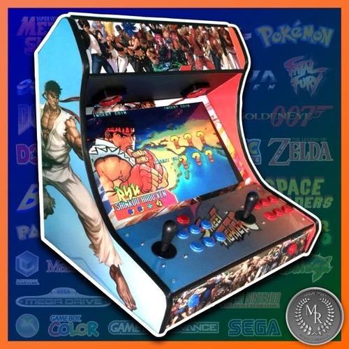 Fliperama Bartop Tela 19 + 15000 Jogos - Mr.fliperamas