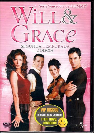 Dvd Will E Grace Segunda Temporada - Novo Lacrado!!