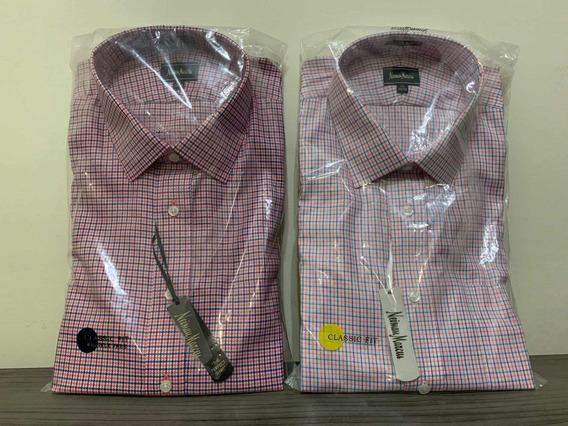 Par De Camisas Neiman Marcus 17 1/2 - 34/35 Nuevas
