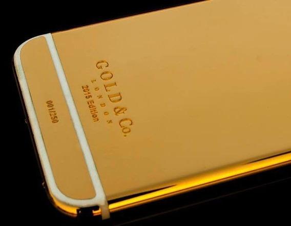 iPhone 7 128gb Chapado En Oro De 24 Kilates