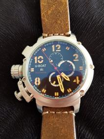 Promoção Relógio Chimera U-51 Automatico Pulseira Couro