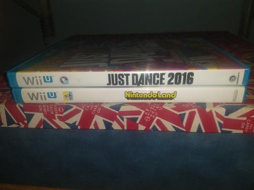 Just Dance 2016 + Nintendoland Wiiu Originais + Bônus