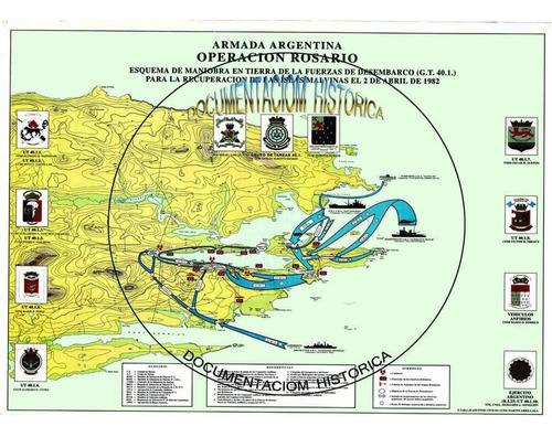 Malvinas -ubicacion Fuerza De Tareas