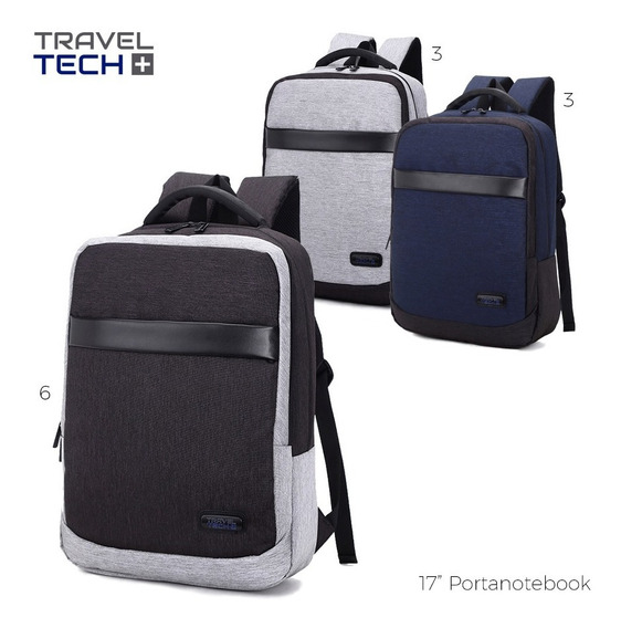 Mochila Porta Notebook Travel Tech
