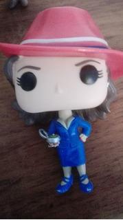 Funko Pop Agent Carter Marvel Capitan America S/caja Origina