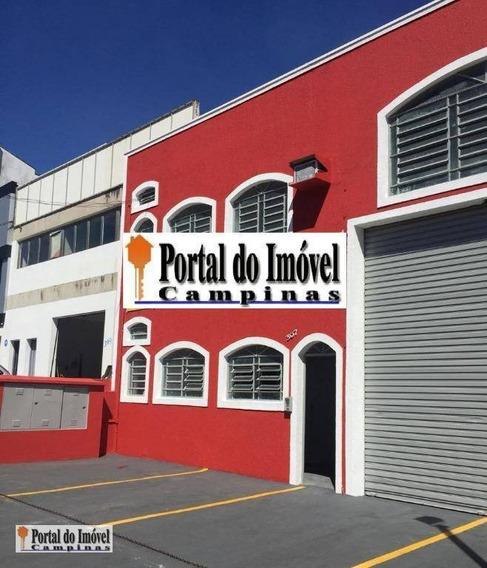 Galpão Comercial Para Locação, Jardim Do Trevo, Campinas. - Ga0037