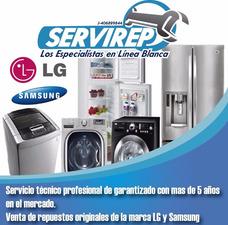 Servicio Tecnico Autorizado Lg Samsung Neveras Lavadoras