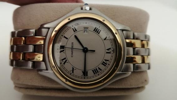 Cartier Cougar Oro Acero