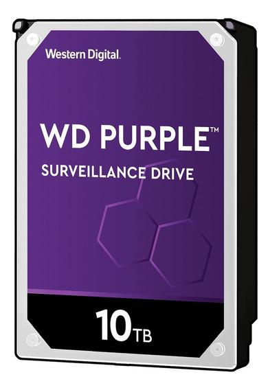 Disco duro interno Western Digital WD Purple WD101PURZ 10TB violeta
