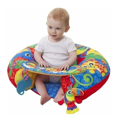 Gimnasio Inflable Bebe Playgro Sit Up And Play Activity Nest