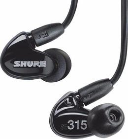 Fone De Ouvido Shure Se315 Monitor In Ear