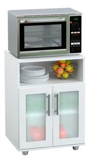 Mueble Microondas Alacena Organizador G10blmac - Luico