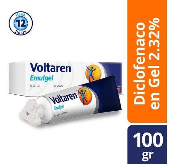 Gel Emulgel 12 Horas 100g Diclofenaco 2.32% Voltaren