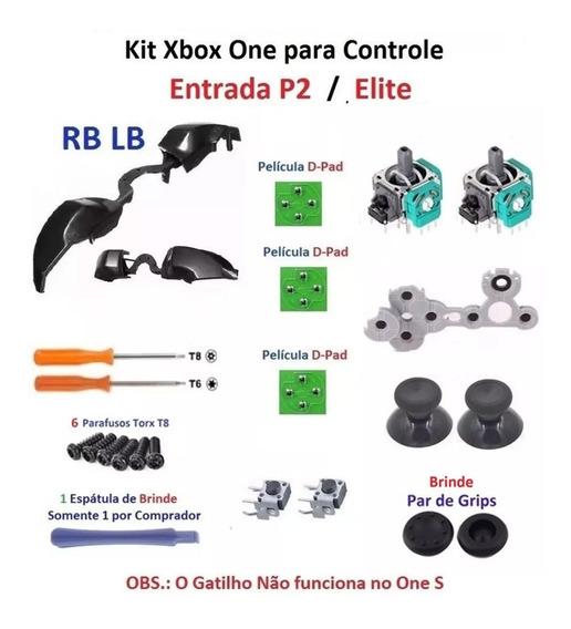 Xbox One Peças Reparo Controle Entrada P2 Elite Frete 16