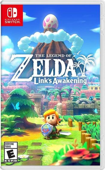 The Legend Of Zelda Links Awakening Switch Mídia Física