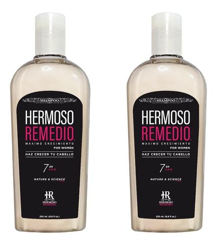 Imagen 1 de 10 de 2 Shampoo Crecimiento Anti Caida Reparador Frizz Mujer 7en1