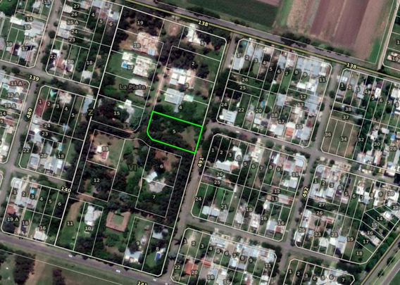Terreno Venta 40 X 60 Mts- 2,039 Mts 2 -barrio La Lula - Joaquin Gorina