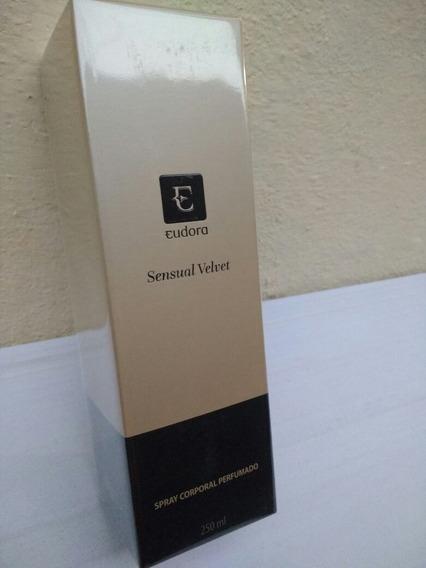 Eudora Sensual Velvet Spray Corporal Perfumado