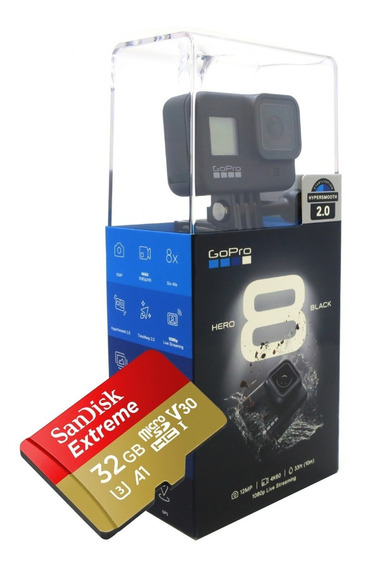 Fantástica Gopro Hero 8 Black 32gb Envio Imediato Garantia