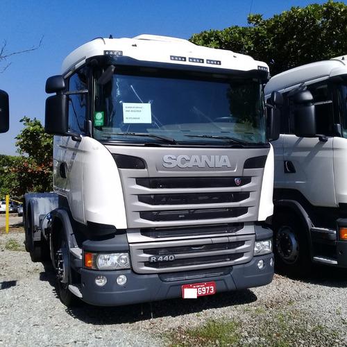 Scania R 440 2018 Pouco Rodada Com Retarder 6973