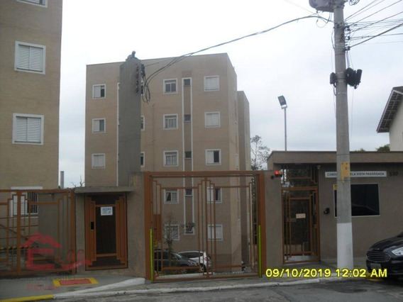 Apartamento Com 2 Dormitórios À Venda, 49 M² Por R$ 162.000,00 - Outeiro De Passárgada - Cotia/sp - Ap0851