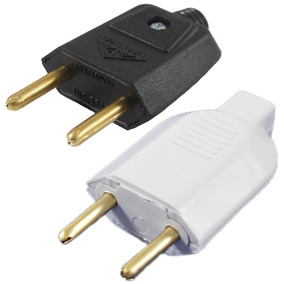 Kit Plug Desmontavel 2p 10a 250v Ms-60l03 - 2 Peças