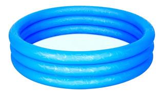 Pileta Inflable Bestway 3 Anillos 122 X 25 Cm Pelotero Niños