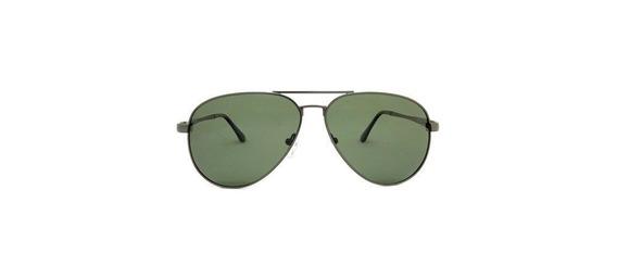 Óculos Aviador Alumínio Lente Polarizada Verde Siracusa