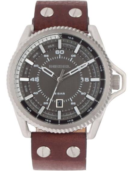 Relógios Diesel Dz1716 Analógico Pulseira Couro - Original