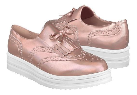 Zapatos Casuales Para Dama My Clasben 181680-03-201-5 Oro Ro