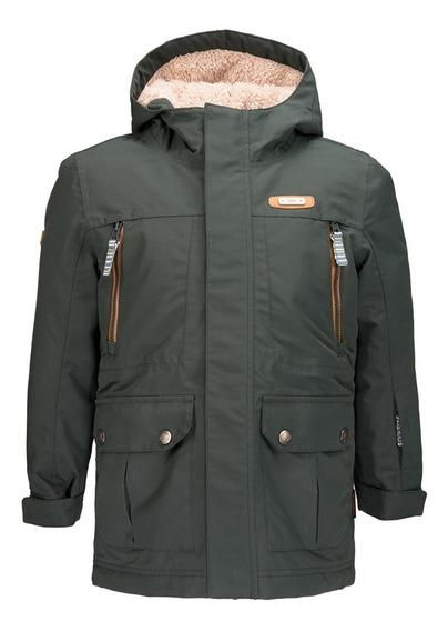 Chaqueta Niño Lippi Roble B-dry Hoody Jacket Verde I19