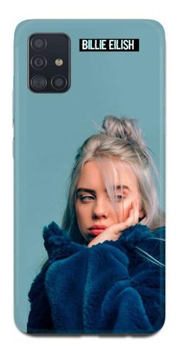 Imagen 1 de 10 de Funda Samsung A31 A21s A11 Billie Eilish 1