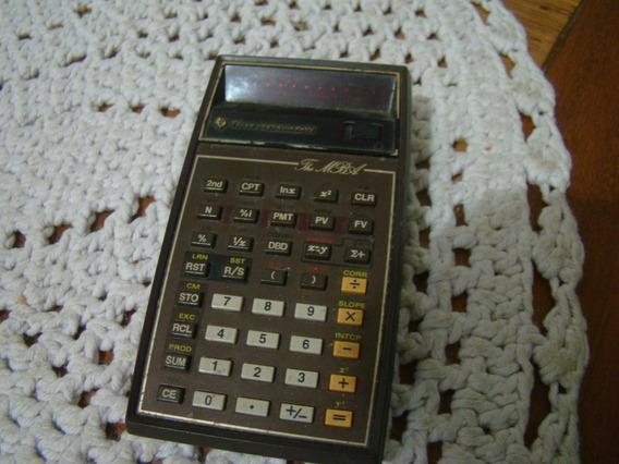 Calculadora Texas The Mba , Não Funciona