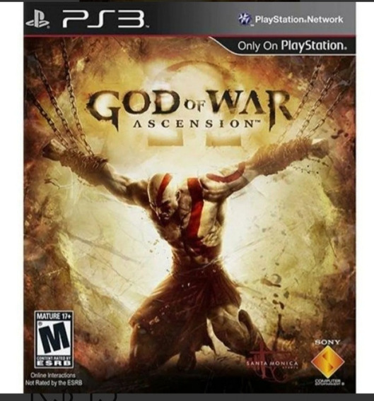God Of War Ascension Português Ps3 Psn Jogo