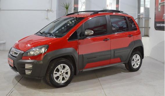 Fiat Idea Adventure 1.6 16v Nafta Roja 2015 Muy Buen Estado!