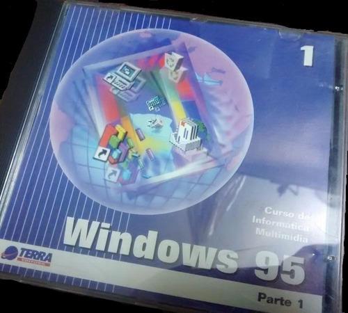 Cd Windows 95 Informática Multimídia Parte 1 Coleção 1