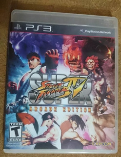 Ps3 Super Street Fighter 4 ... 9.9/10