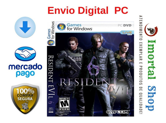 Resident Evil 6 + Brinde Mídia Digital Pc