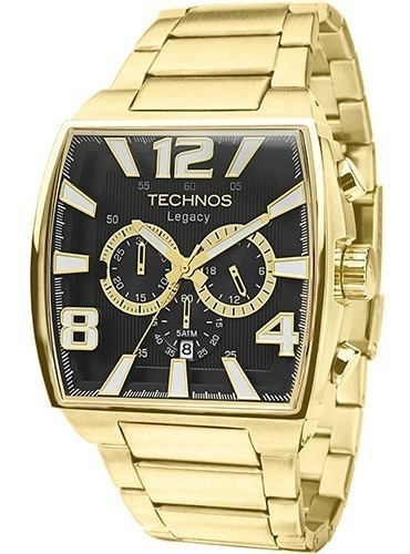 Relógio Technos Masculino Classic Legacy Cronógrafo