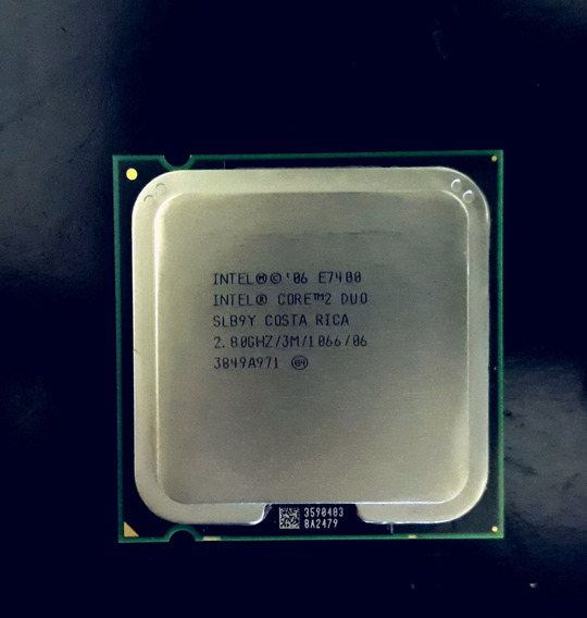 Processador Intel Pentium Core 2 Duo E7400