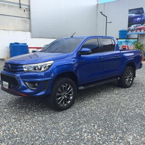 Toyota Hilux Kavak Trd Dubai 2018 Azul