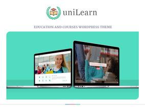 Unilearn - Educação E Cursos Wordpress Theme