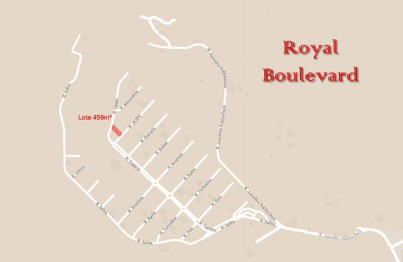 Terreno 459m², Cond. Royal Boulevard - Ibiporã/pr